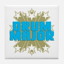 Star Drum Major Tile Coaster