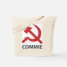 Vintage Commie Tote Bag