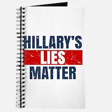 Hillary's Lies Matter Journal