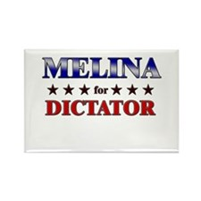 MELINA for dictator Rectangle Magnet