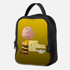 Charlie Brown - Blockhead Full Neoprene Lunch Bag