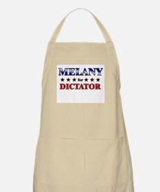 MELANY for dictator BBQ Apron