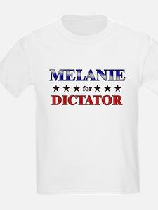 MELANIE for dictator T-Shirt