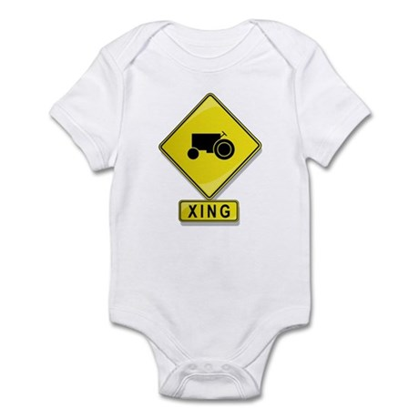 Farmer XING Infant Bodysuit