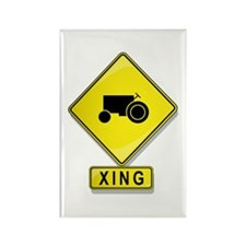 Farmer XING Rectangle Magnet