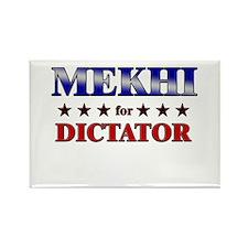 MEKHI for dictator Rectangle Magnet