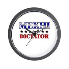 MEKHI for dictator Wall Clock
