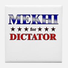 MEKHI for dictator Tile Coaster