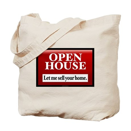 OPEN HOUSE Tote Bag for Marketing the Realtor