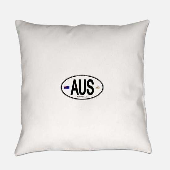 Australia Intl Oval Everyday Pillow
