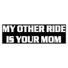 My Other Ride.. Bumper Car Sticker