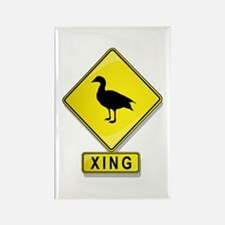 Duck XING Rectangle Magnet