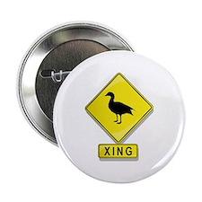 """Duck XING 2.25"""" Button"""