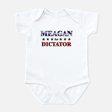 MEAGAN for dictator Infant Bodysuit