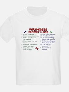 Pekingese Property Laws 2 T-Shirt