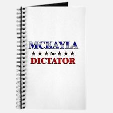 MCKAYLA for dictator Journal