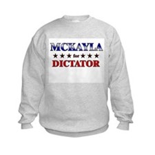MCKAYLA for dictator Jumpers
