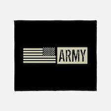 U.S. Army: Army (Black Flag) Throw Blanket