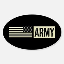 U.S. Army: Army (Black Flag) Decal