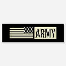 U.S. Army: Army (Black Flag) Sticker (Bumper)
