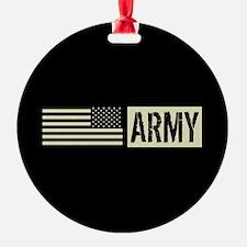 U.S. Army: Army (Black Flag) Ornament