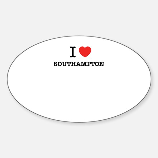 I Love SOUTHAMPTON Decal