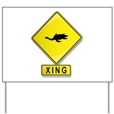 Cryptocleidus XING Yard Sign