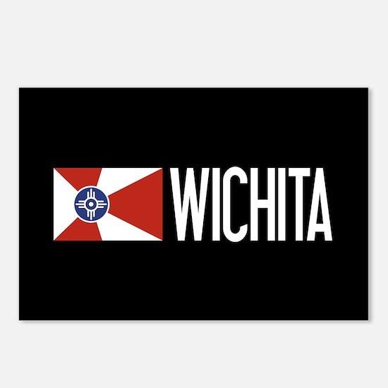 Wichita: Wichitan Flag & Postcards (Package of 8)
