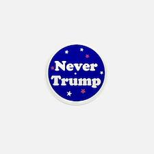 Never Trump, no Donald Mini Button