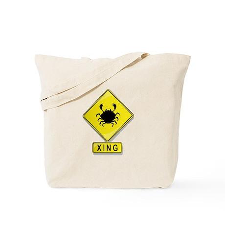 Crab XING Tote Bag