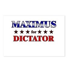 MAXIMUS for dictator Postcards (Package of 8)