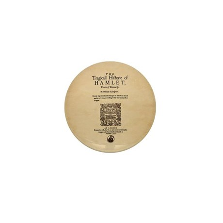 Hamlet Quarto (1605) Mini Button (10 pack)