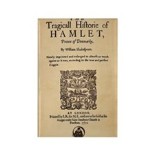 Hamlet Quarto (1605) Rectangle Magnet