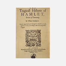 Hamlet Quarto (1605) Rectangle Magnet