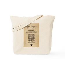 Hamlet Quarto (1605) Tote Bag