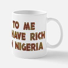 Nigerian Scammers Mug