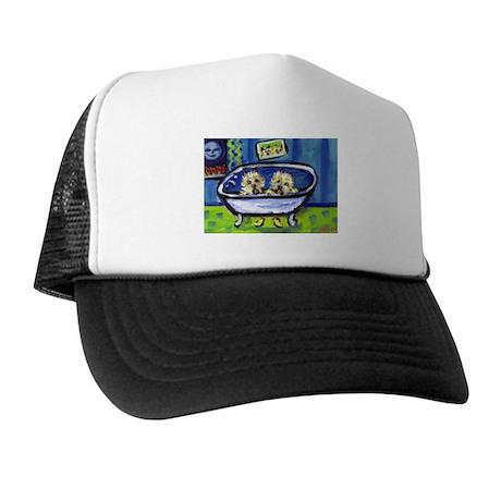 CAIRN TERRIER bath Design Trucker Hat