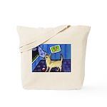 CHIHUAHUA moon Design Tote Bag