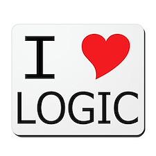I Heart Logic Mousepad