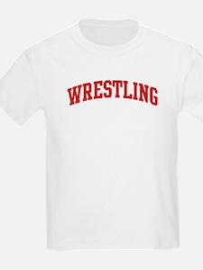 Wrestling (red curve) T-Shirt
