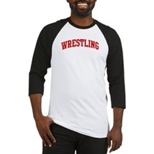Wrestling (red curve) Baseball Jersey