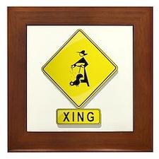 Chicken Farmer XING Framed Tile
