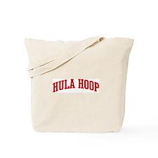 Hula Hoop (red curve) Tote Bag