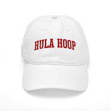 Hula Hoop (red curve) Baseball Cap