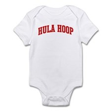 Hula Hoop (red curve) Infant Bodysuit