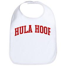 Hula Hoop (red curve) Bib