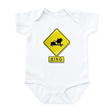 Cement Truck XING Infant Bodysuit