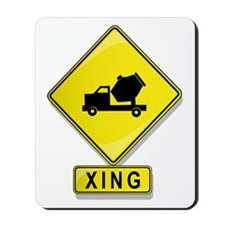 Cement Truck XING Mousepad
