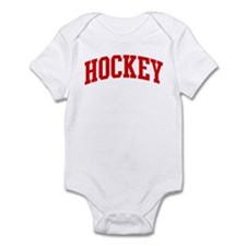 Hockey (red curve) Infant Bodysuit