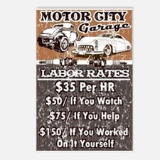 MC GARAGE Postcards (Package of 8)